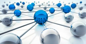 Blue Network - © by psdesign1 / fotolia.com